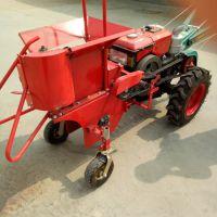 小型汽油动力玉米收获机 单行家用普航牌棒子收获机 批棒子的机器