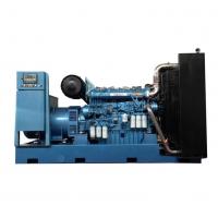 潍柴500KW大型天然气发电机组 配置潍柴12M26D605E300NG气体发动机