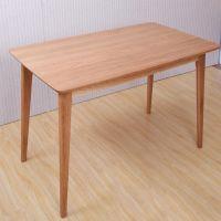 海德利简约现代餐桌长方形饭桌家用小户型实木饭桌可定制实木餐桌