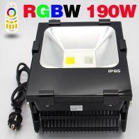 2.4G 190W大功率LED泛光灯 RGB+W七彩四路遥控 支持手机APP调色