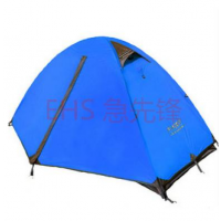 单人户外帐篷/野营露营帐篷/铝杆双层/帐篷包