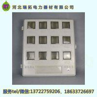 玻璃钢电表箱平门透明小开门双开门SMC玻璃钢电表箱 三相玻璃钢电表箱价格优惠