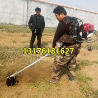 背负式汽油割草机 新型多功能旋耕除草机 便携式除草锄地机