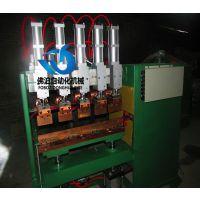 佛泊自动化多缸丝网排焊机 气动蒸发器排焊机 护兰网龙门焊机