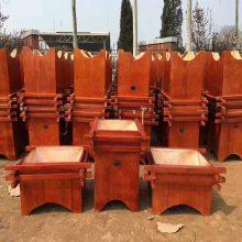 沧州小区花箱质优价廉,实木花箱奥博厂家,品质高