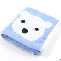 隆利工厂直销批发竹炭纤维婴幼儿童用小毛巾小孩洗脸面巾吸湿透气