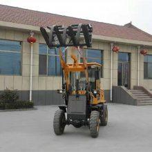 志成生产ZL10型玉米装粮机工地碎石小型装载机垃圾肥土运输车