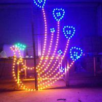 灯杆凤凰图案灯 LED中国结 灯杆装饰灯 荷花造型灯