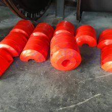 山东圆柱体浮体规格500*800*220 定做220孔径管道浮体