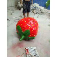 采摘园玻璃钢仿真果蔬雕塑