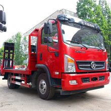 蓝牌小挖机拖车价格是多少100挖机拖车厂家电话187-2798-8221
