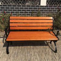 防腐木户外公园休闲椅子