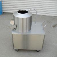 不锈钢水洗土豆去皮机 小型削土豆皮机器 澜海