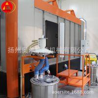 厂家定制自动喷粉生产线 金属表面处理加工涂装设备 自动喷粉线