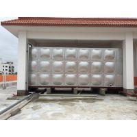 南宁酒店不锈钢水箱供应, 南宁304组合式水箱生产安装