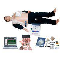电脑高级CPR心肺复苏、AED除颤仪、创伤模拟人触电假人(计算机控制三合一)