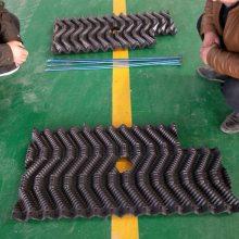 四通八达鳝鱼巢 塑料片自带喂食区的鳝巢 观察孔作用 【河北华强】