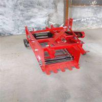 瑞乾机械供应四轮拖拉机带的4U-600型马铃薯红薯大蒜收获机收土豆地瓜的机子加固型