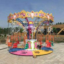 郑州宏徳游乐供应小型游乐设备儿童飞椅秋千飞鱼 旋转椰子树小飞鱼