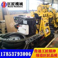 华夏巨匠XYX-180车轮式打井机价格实惠 180米岩心钻机