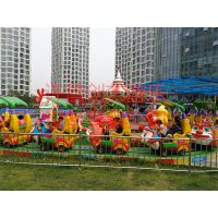 吉林香蕉环车新型公园游乐设施趣味十足的儿童香蕉火车游乐设备