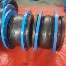 宝鸡给水管道KXT型橡胶软接头JGD-DN250高压硫化橡胶减震器检验合格