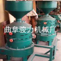 多功能玉米脱皮碾米机 新型脱皮碾米机 制糁设备 骏力生产