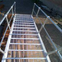 电厂踏步板 简易楼梯网格板哪里有卖的 不锈钢镀锌格子板