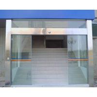 松坑自动玻璃门手机遥控,玻璃门感应器18027235186