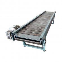 箱装物料链板输送机结构运输平稳 水平式链板输送机分类出售厂家十堰