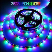 12V-3528-60珠RGB裸板 遥控七彩变色灯带低压LED灯带