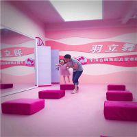 高端专业舞蹈地胶 5mm高回弹性舞蹈房PVC塑胶地板厂家批发