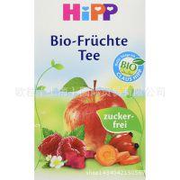 德国进口喜宝HiPP婴儿苹果覆盆子水果营养茶 4个月以上
