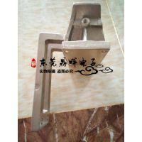 厂家直销台湾兢铭铜V型座 铜V座 导电铜飞靶头 V座 铜加工件