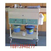 昂派UP-10075 主护模式多功能治疗车带桶 无线移动式护理工作站