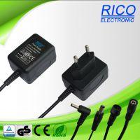 供应6W欧规底插电源适配器.此产品符合EN60065标准认证.产品可过VI六级能效RICO