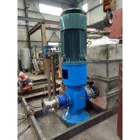 厂家直销 SNS2200-46 立式三螺杆泵 安徽永骏泵阀 三螺杆泵厂家