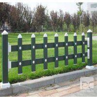 白色pvc草坪护栏 棕色塑钢pvc花园围栏隔离栏 厂家直销 价格便宜