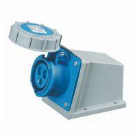 启星QX-1192 3芯16A防护IP67工业明装插座