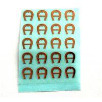 【深圳伟华盛标牌】供应超薄电铸镍标签,金属贴字,分体自粘金属LOGO