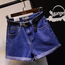 广州便宜短裤批发库存杂款女装牛仔裤短裤批发夏季直筒三分裤