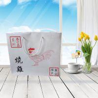 河北雅惠包装定做土特产熟食袋通用烧鸡袋沟帮子熏鸡公袋子手提纸袋