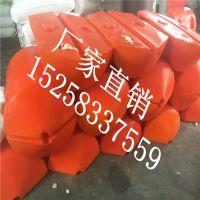 海洋警示拦污浮筒 50*75cm圆柱形pe塑料拦污浮筒
