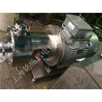 供应单级、多层在线式乳化泵,管道型分散乳化机