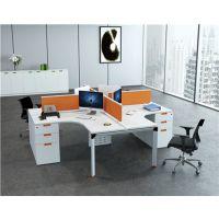 朗哥家具 4人位职员桌 办公屏风卡位 办公家具厂家70