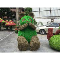 仿真草雕哪里有做? 惠州工厂定做 仿真大型动物雕塑 人造树脂工艺品