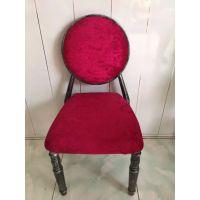 鸿鼎厂家直销 个性时尚高档酒店餐椅 美式家具餐椅简易实木餐椅