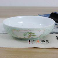 景德镇手绘礼品功夫茶具套装批发价格 高档茶具生产厂家 千火陶瓷