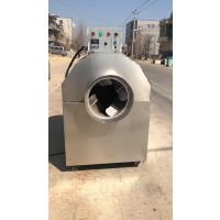 桦南县 100-200斤滚筒炒锅机 小米大米电加热炒货机