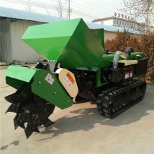卢龙县银杏树施肥回填机 硬质土地果园开沟机 五种刀具齐全的开沟机